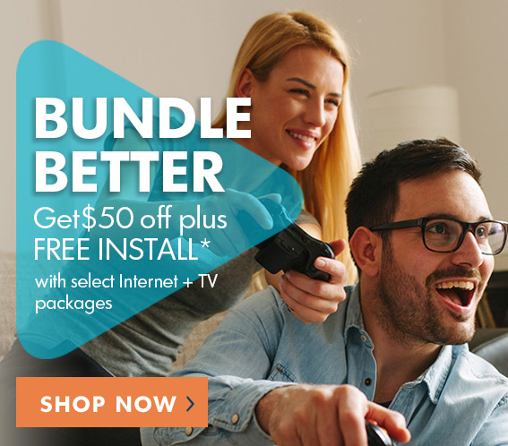 Bundle with Wave and get $50 off and Free Install with select packages*
